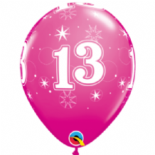 13 Sparkle Pink - 11 Inch Balloons 25pcs